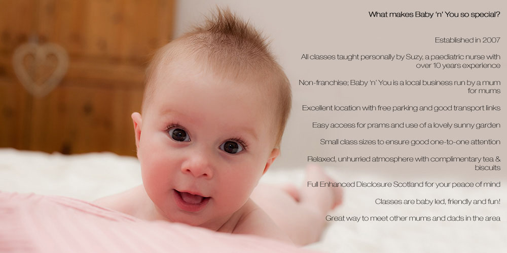 Baby Massage and Yoga in Glasgow
